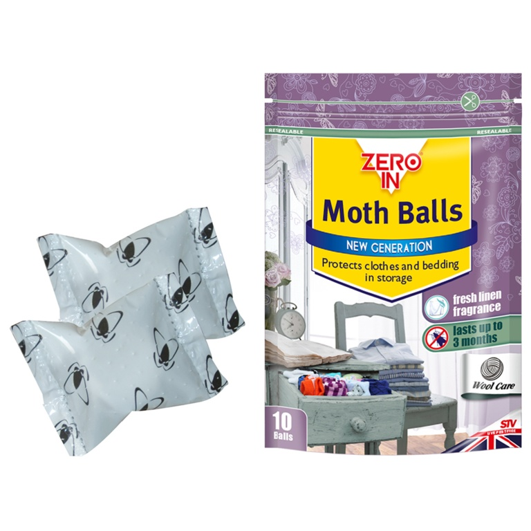 Moth Balls - Pack of 10 – Now Only £2.50