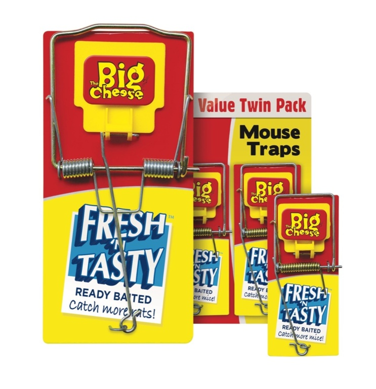 Fresh Baited Mouse Trap - Twin Pack – Now Only £3.50