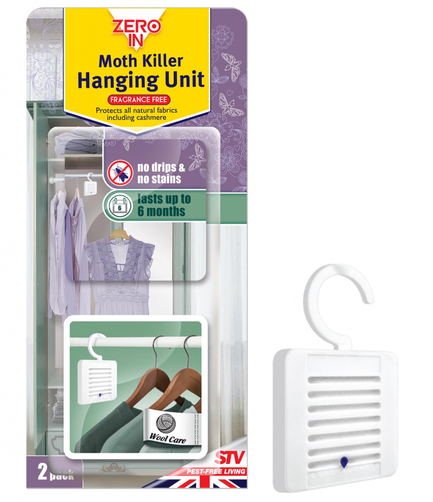 Moth Killer Hanging Unit - Twin Pack – Now Only £3.50