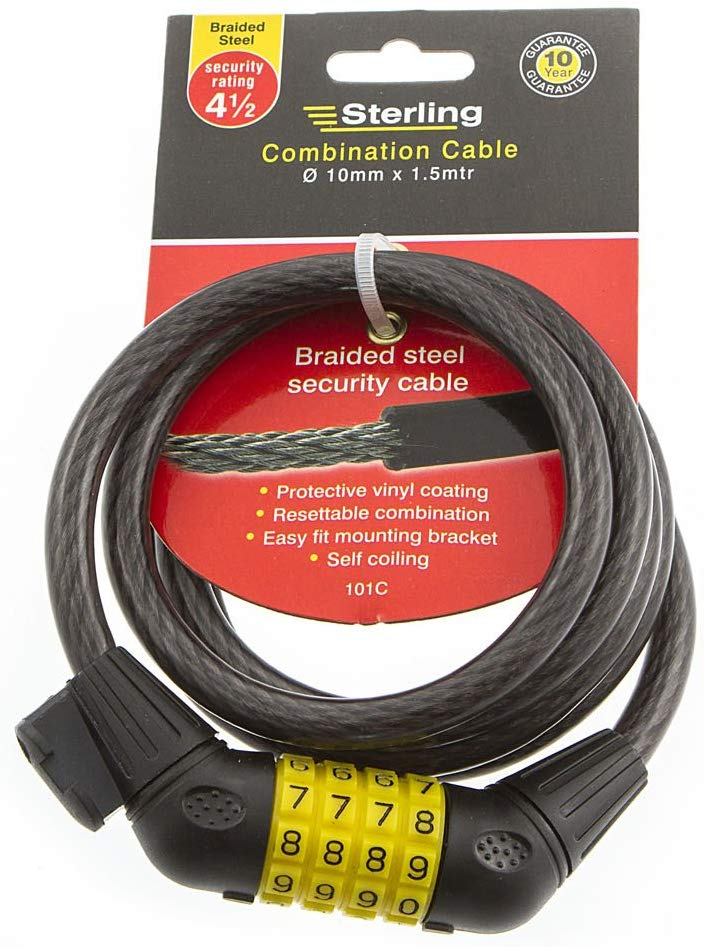Combination Locking Cable – Now Only £7.50