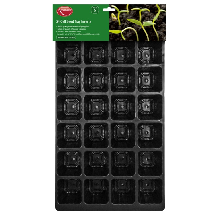 15 Cell Seed Tray Inserts - Pack of 5 – Now Only £3.00