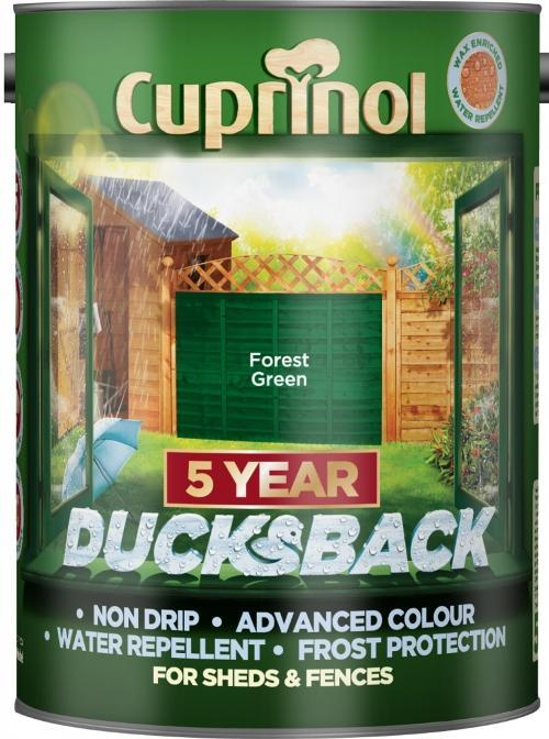 5 Litre Ducksback - Forest Green – Now Only £10.00