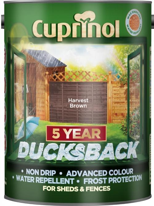 5 Litre Ducksback - Harvest Brown – Now Only £10.00