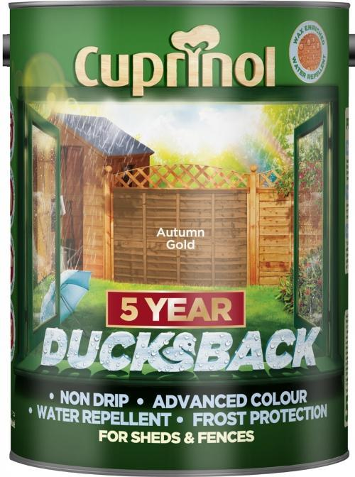 5 Litre Ducksback - Autumn Gold – Now Only £10.00