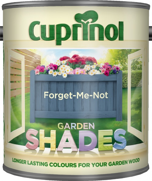 1 Litre Garden Shades - Forget Me Not – Now Only £10.00