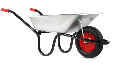85 Litre Camden Classic Galvanised Pneumatic Barrow – Now Only £37.00