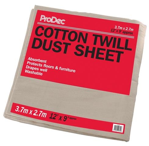 Cotton Twill Dust Sheet – Now Only £7.00