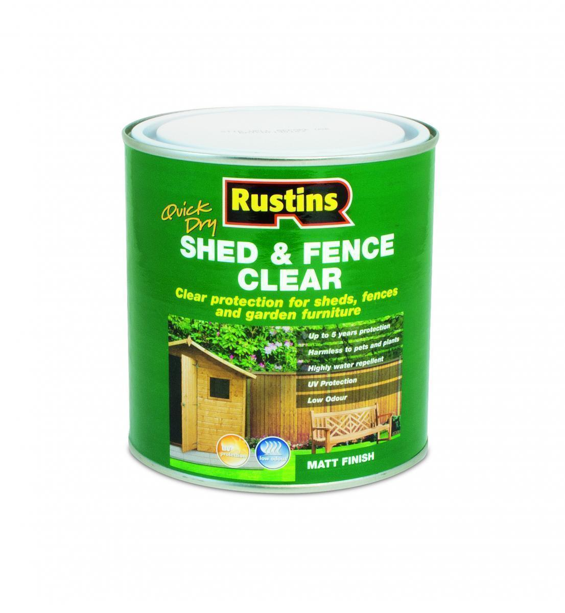Shed and Fence Clear - 5 Litre – Now Only £22.00