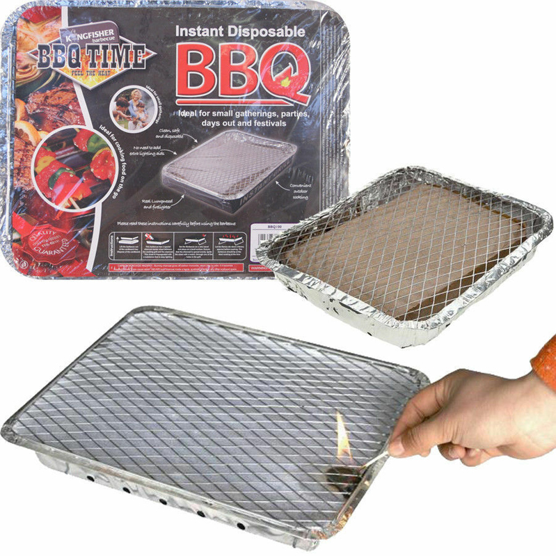 Disposable Charcoal BBQ  – Now Only £3.50