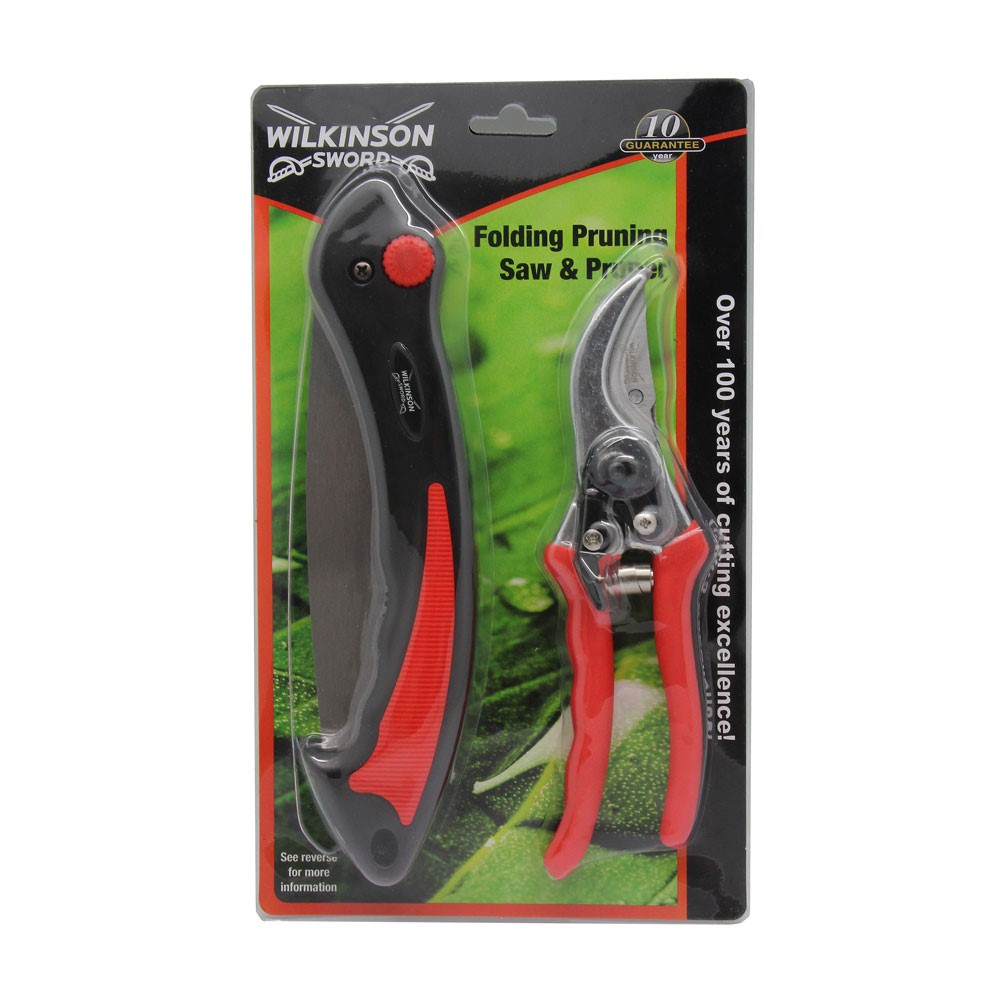 Folding Pruner Saw & Pruner Set – Now Only £12.00