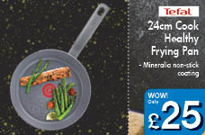 24cm Cook Healthy Frying Pan – Now Only £25.00