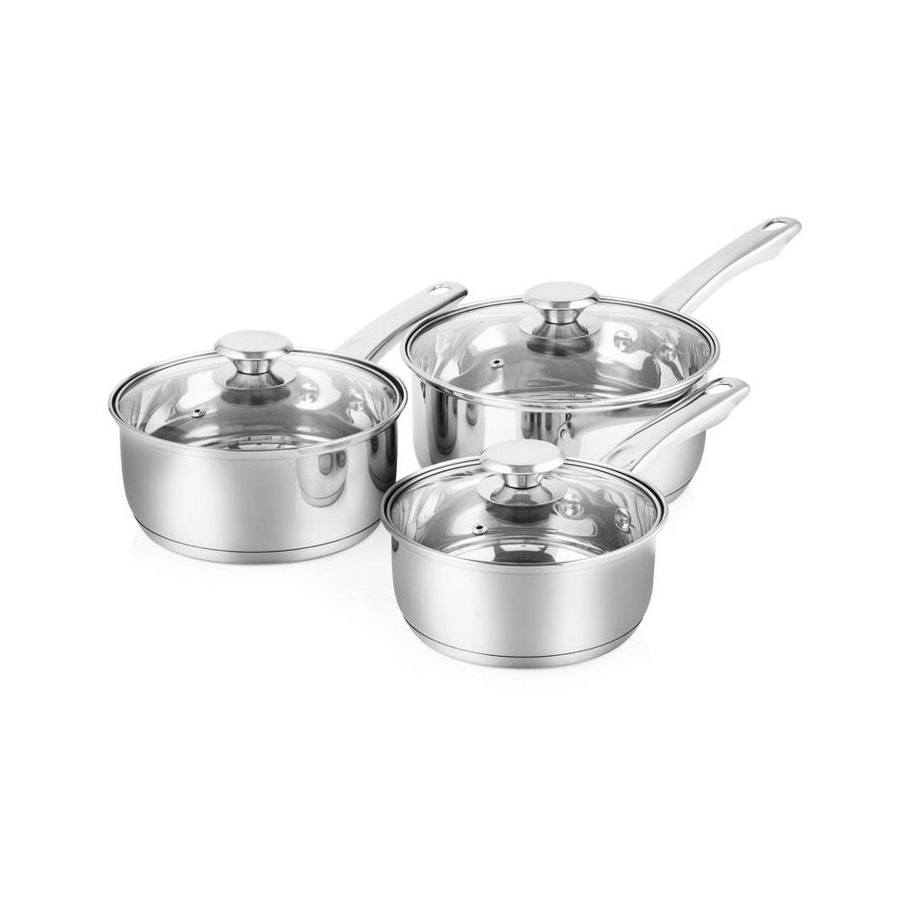 3 - Piece Saucepan Set – Now Only £27.00