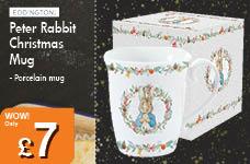 Peter Rabbit Christmas Mug – Now Only £7.00