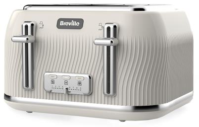 4 Slice Toaster - Cream – Now Only £39.00