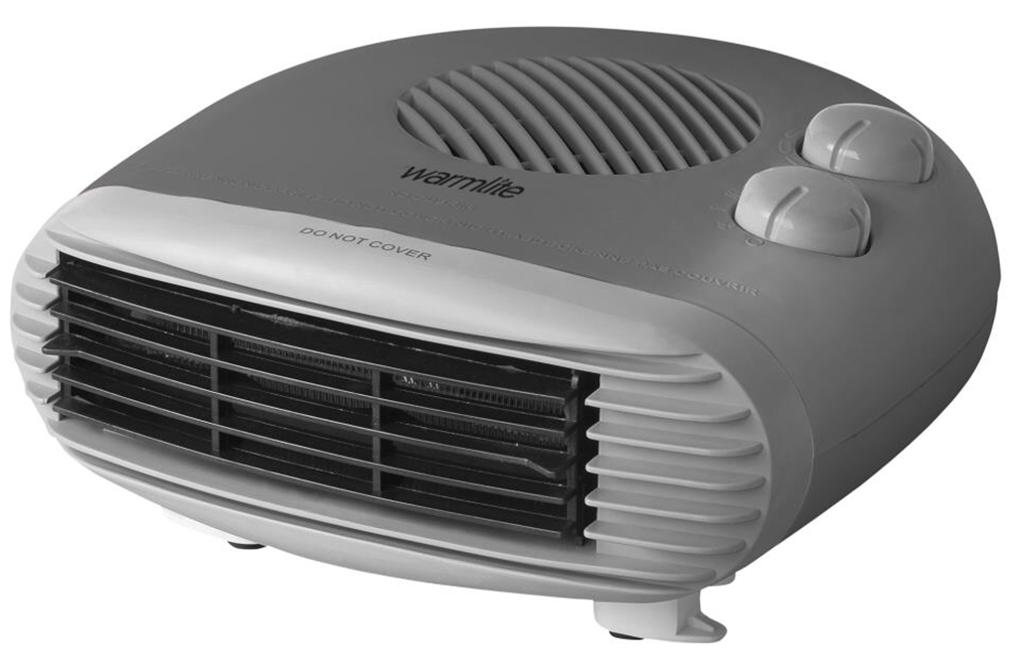 2W Flat Fan Heater – Dark Titanium – Now Only £12.50