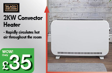 2KW Convector Heater – Now Only £35.00