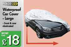 Waterproof Car Cover - Large – Now Only £18.00