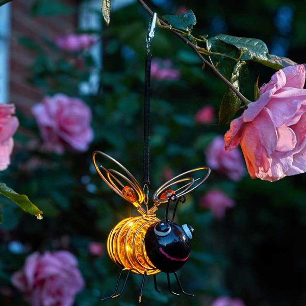 Solar Bug Light - Bee – Now Only £5.00
