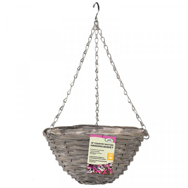"12"" Sable Willow Basket – Now Only £3.00"