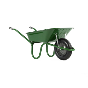 1041 Original Green 90 Litre Pneumatic Barrow – Now Only £45.00