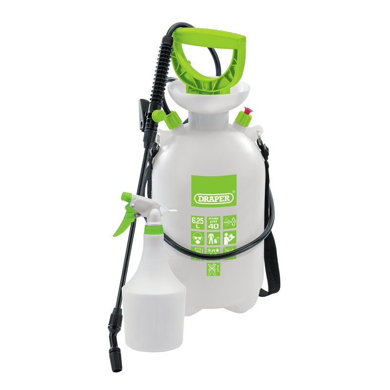 6.25 Litre Pressure Sprayer With 1 Litre Mini Sprayer – Now Only £18.00
