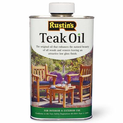 Teak Oil 250ml – Now Only £4.50