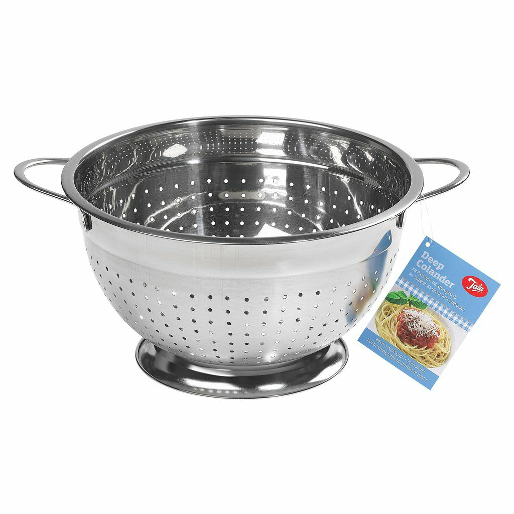 24cm Deep Colander with Handles – Now Only £10.00
