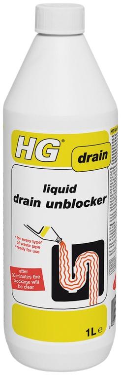 1 Litre Liquid Drain Unblocker – Now Only £4.00