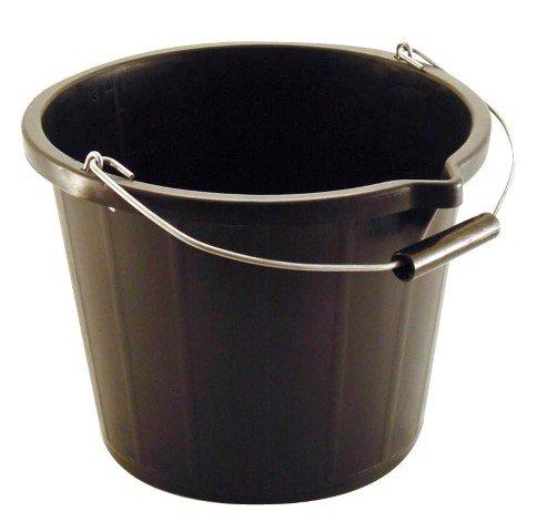 3 Gallon / 14 Litre Black Plastic Bucket – Now Only £2.00