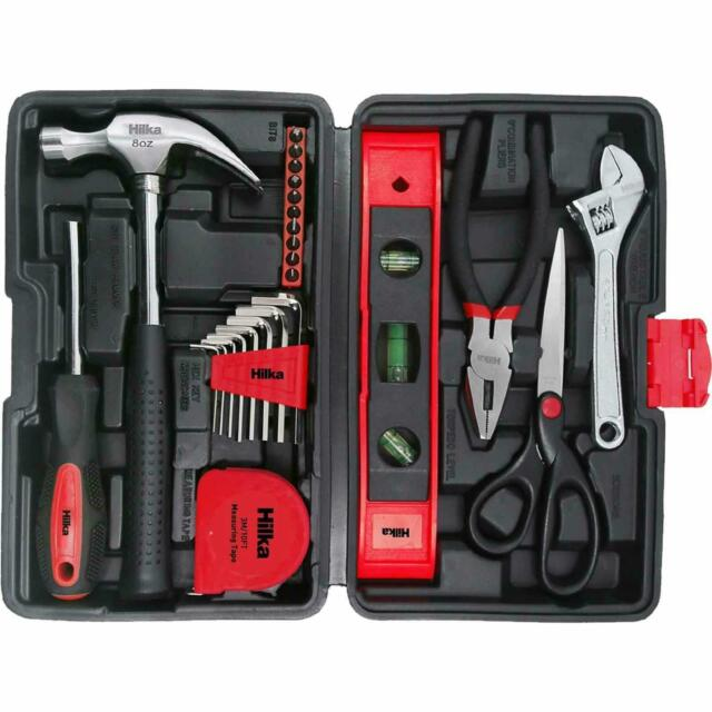 Pro Craft Tool Kit with Level & Scissors - 25 Pieces – Now Only £17.00