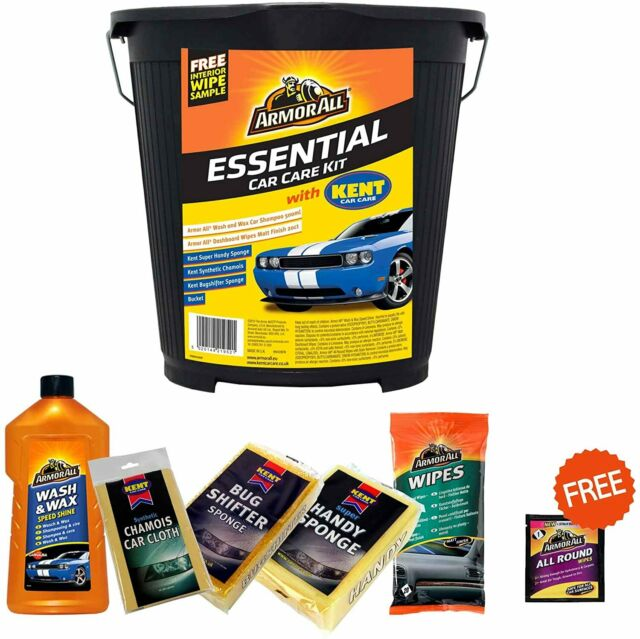 Essentials Car Kit - 5 Pieces + FREE All Round Sachet Wipe – Now Only £12.00