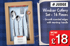 Windsor Cutlery Set - 16 Pieces – Now Only £18.00