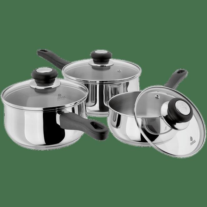 Saucepan Set - 3 Pieces – Now Only £49.00