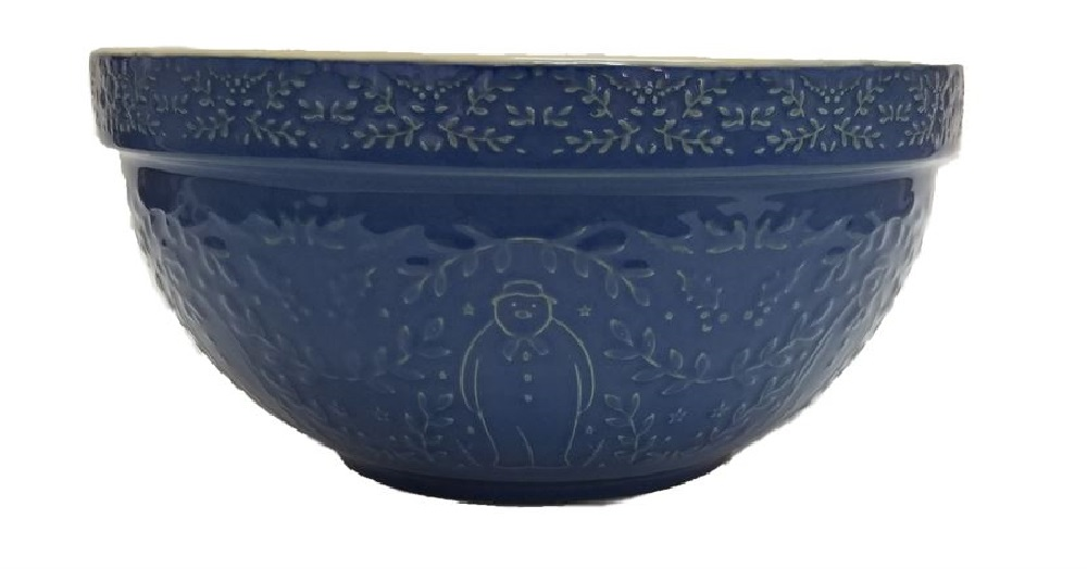 The Snowman™ Blue Ceramic Mixing Bowl – Now Only £15.00