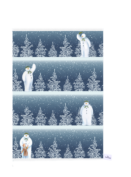The Snowman™ Cotton Tea Towels - Set of 2 – Now Only £10.00
